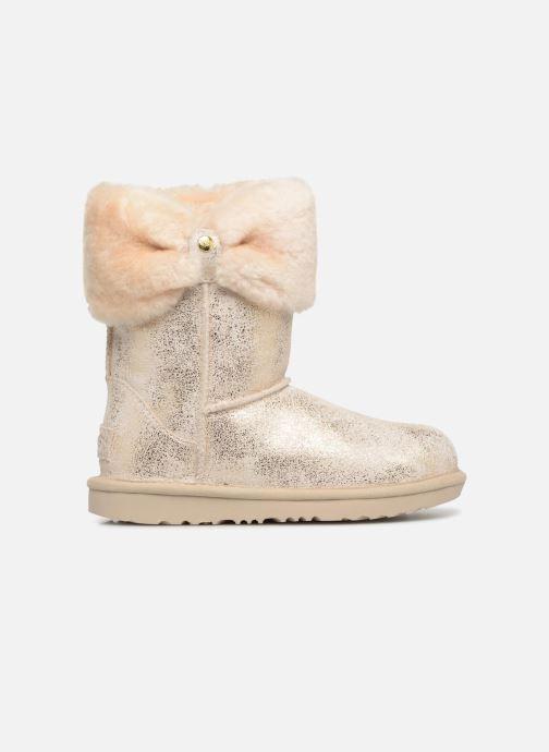 Boots en enkellaarsjes UGG Ramona Classic Short II K Goud en brons achterkant