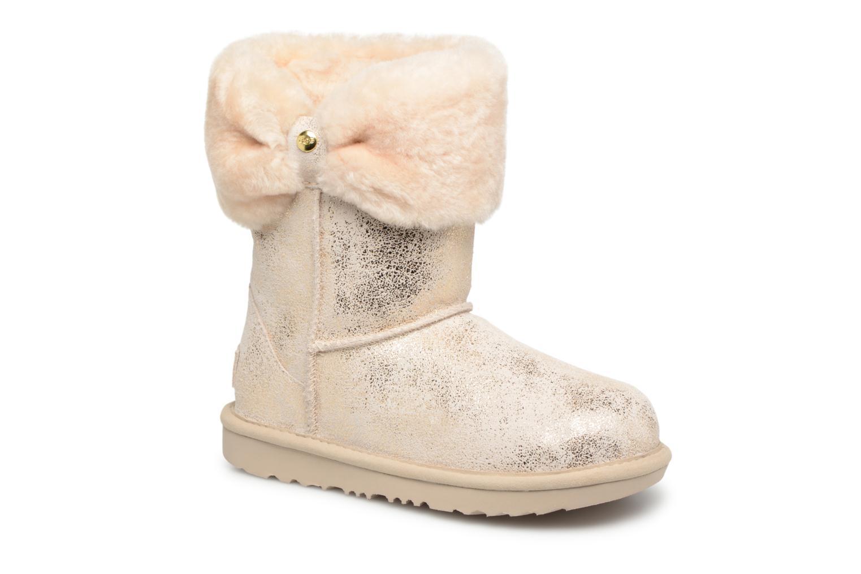 Bottines et boots UGG Ramona Classic Short II K Or et bronze vue détail/paire