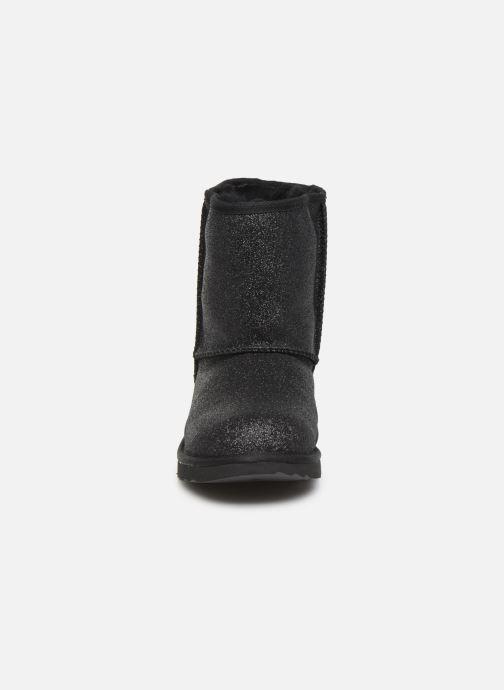 Boots en enkellaarsjes UGG Kids' Classic Short II Glitter Zwart model