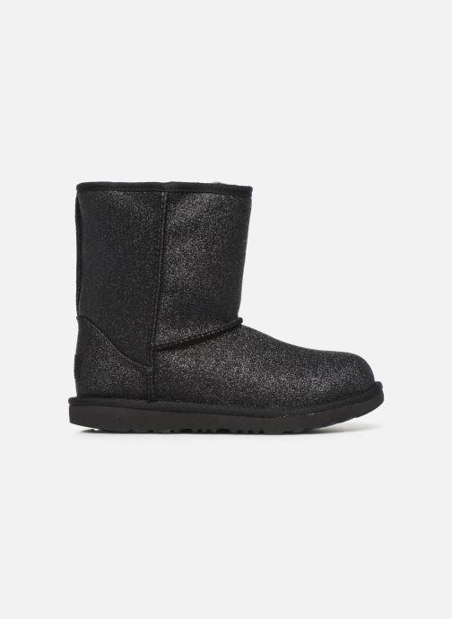 Boots en enkellaarsjes UGG Kids' Classic Short II Glitter Zwart achterkant