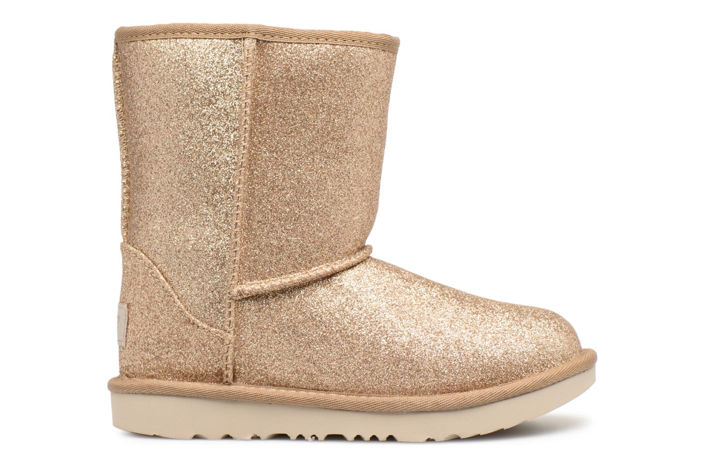 Bottines et boots UGG Classic Short II Glitter K Or et bronze vue derrière