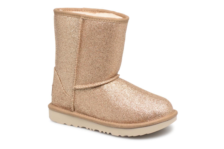 Bottines et boots UGG Classic Short II Glitter K Or et bronze vue détail/paire