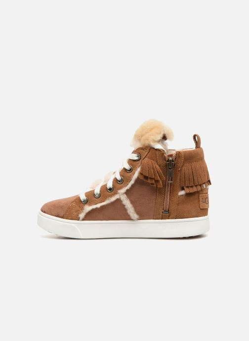 Baskets UGG Darlala Sneaker K Marron vue face