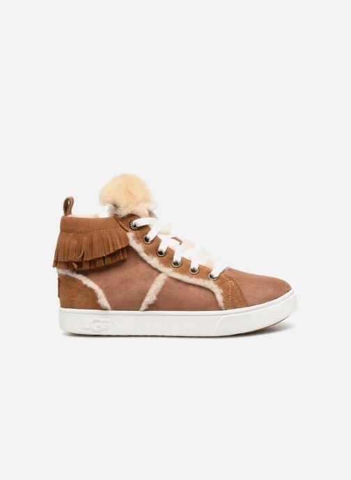 Baskets UGG K Darlala Sneaker Marron vue derrière