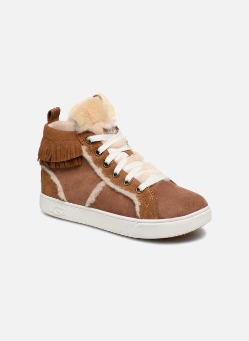 Baskets UGG K Darlala Sneaker Marron vue détail/paire
