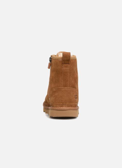 Bottines et boots UGG Harkley K Marron vue droite