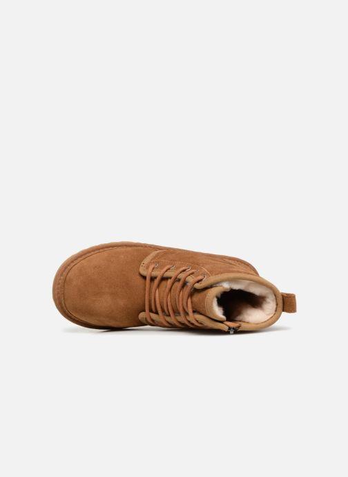 Stiefeletten & Boots UGG Harkley K braun ansicht von links