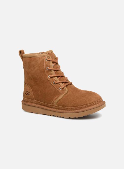 Bottines et boots UGG Harkley K Marron vue détail/paire