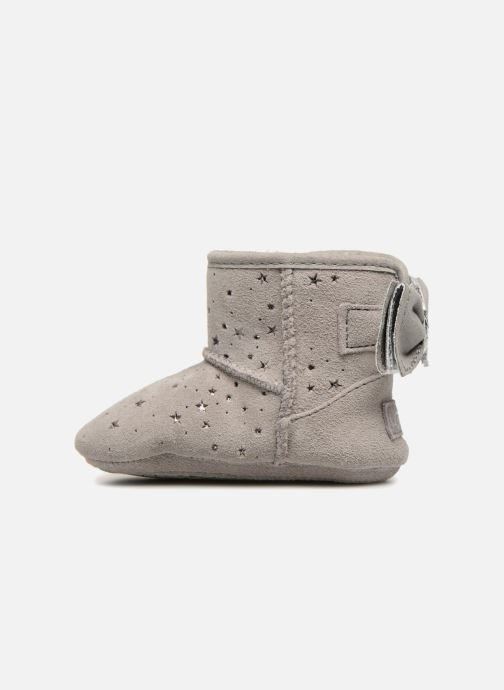 Chaussons UGG Jesse Bow II Stargirl Bootie K Gris vue face