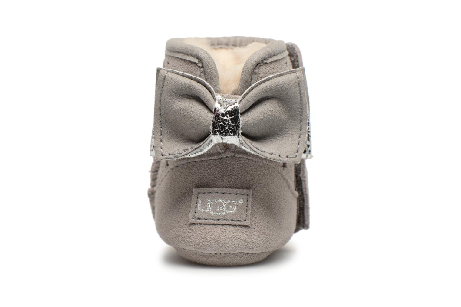 Chaussons UGG Jesse Bow II Stargirl Bootie K Gris vue droite