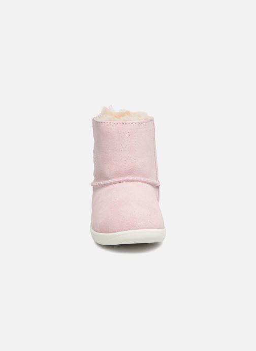 Stiefeletten & Boots UGG Keelan K rosa schuhe getragen
