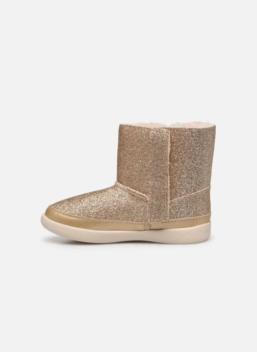 Bottines et boots UGG Keelan K Or et bronze vue face