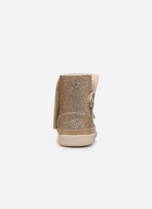Bottines et boots UGG Keelan K Or et bronze vue droite