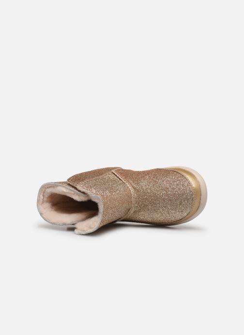 Bottines et boots UGG Keelan K Or et bronze vue gauche