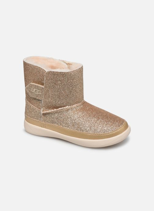 Ankelstøvler UGG Keelan K Guld og bronze detaljeret billede af skoene