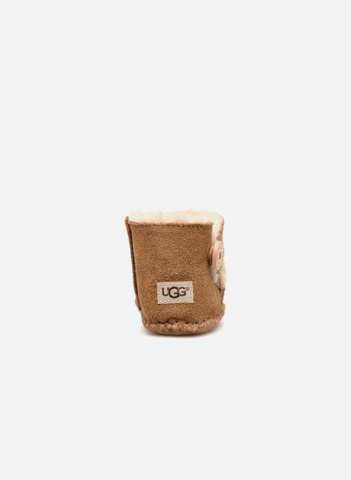 Pantofole UGG Lemmy II K Marrone immagine destra