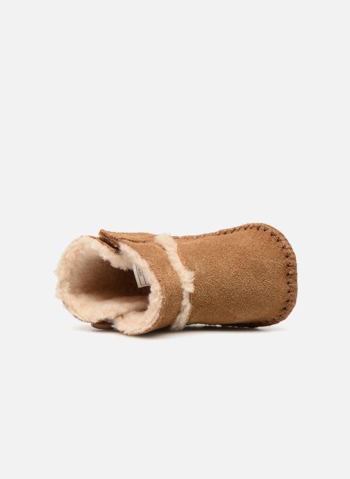 Pantofole UGG Lemmy II K Marrone immagine sinistra