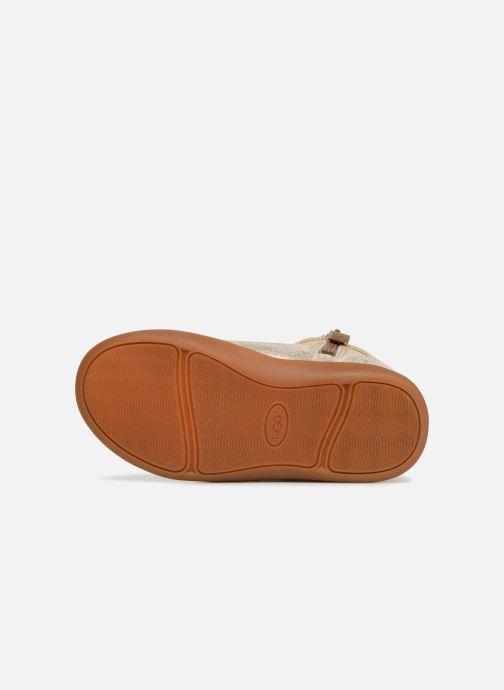 Bottines et boots UGG Libbie K Or et bronze vue haut