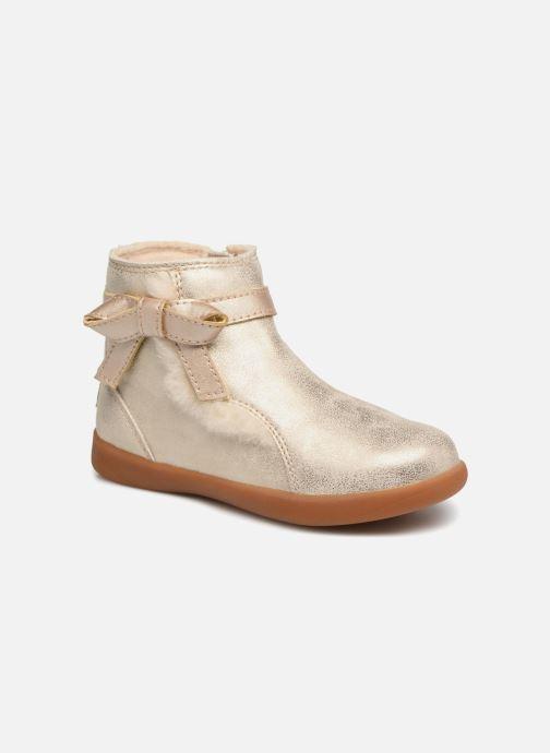 Bottines et boots UGG Libbie K Or et bronze vue détail/paire
