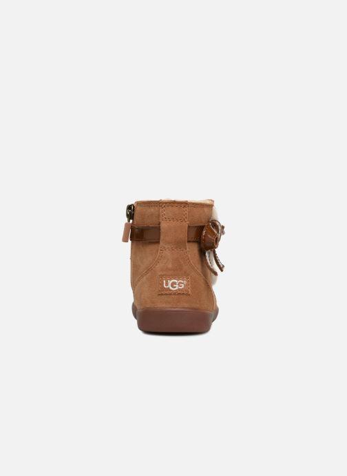 Bottines et boots UGG Libbie K Marron vue droite