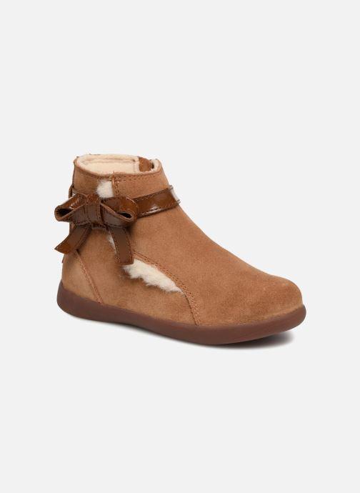 Bottines et boots UGG Libbie K Marron vue détail/paire
