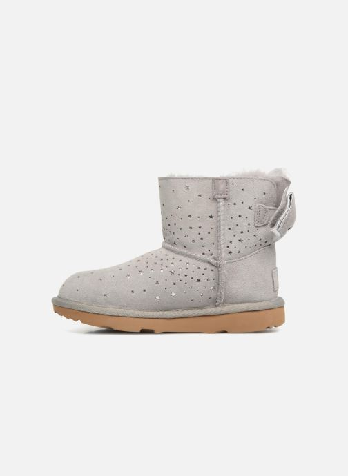 Bottes UGG Stargirl Classic Mini II Bow K Gris vue face