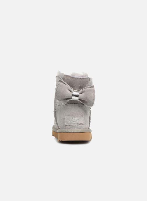 Laarzen UGG Stargirl Classic Mini II Bow K Grijs rechts