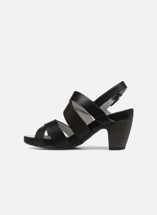 Sandales et nu-pieds S.Oliver Cerela New Noir vue face