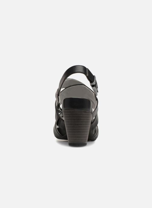 Sandales et nu-pieds S.Oliver Cerela New Noir vue droite