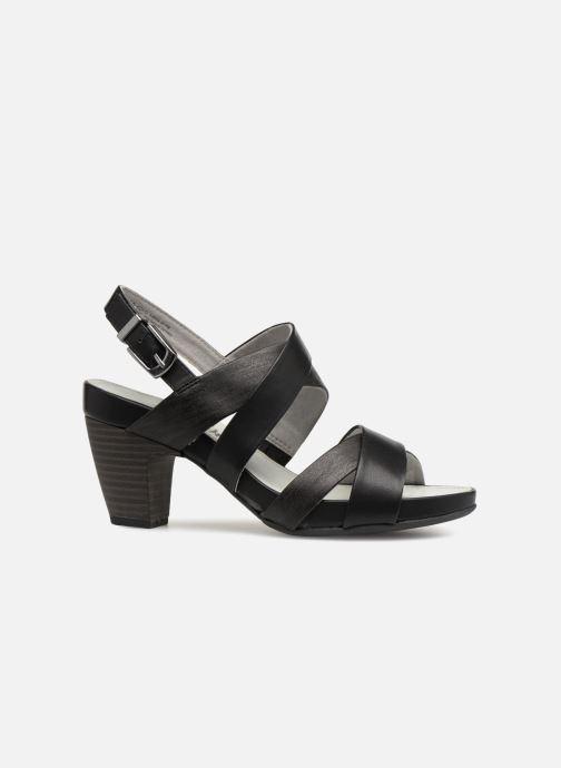 Sandales et nu-pieds S.Oliver Cerela New Noir vue derrière