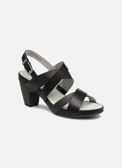 Sandaler S.Oliver Cerela New Sort detaljeret billede af skoene