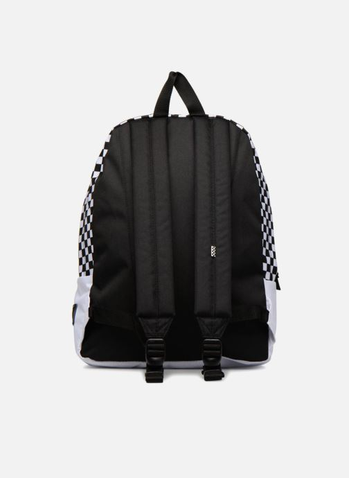 c4c82de61bd Vans CHECKERBOARD MICKEY REALM BACKPACK (White) - Rucksacks chez ...