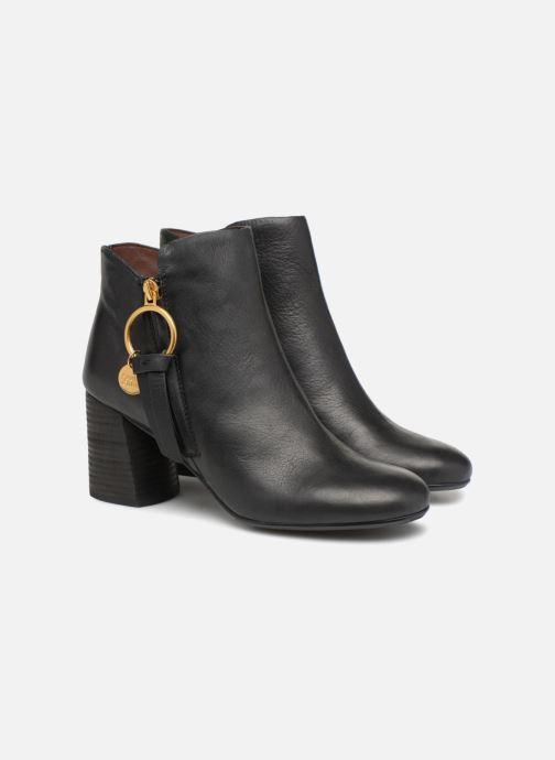 Bottines et boots See by Chloé Louise Noir vue 3/4