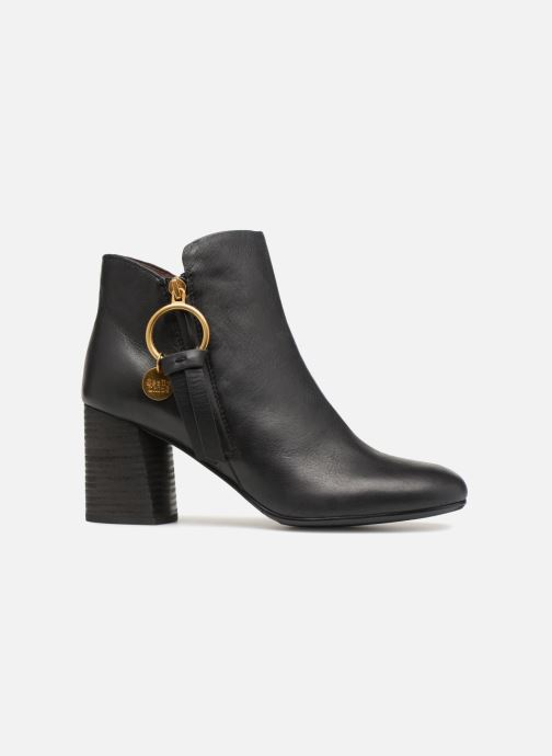 Boots en enkellaarsjes See by Chloé Louise Zwart achterkant