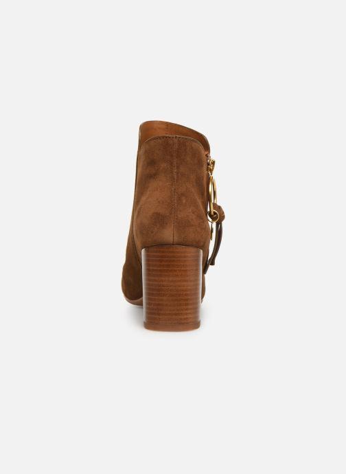 Boots en enkellaarsjes See by Chloé Louise Bruin rechts