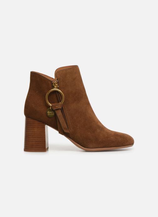 Bottines et boots See by Chloé Louise Marron vue derrière