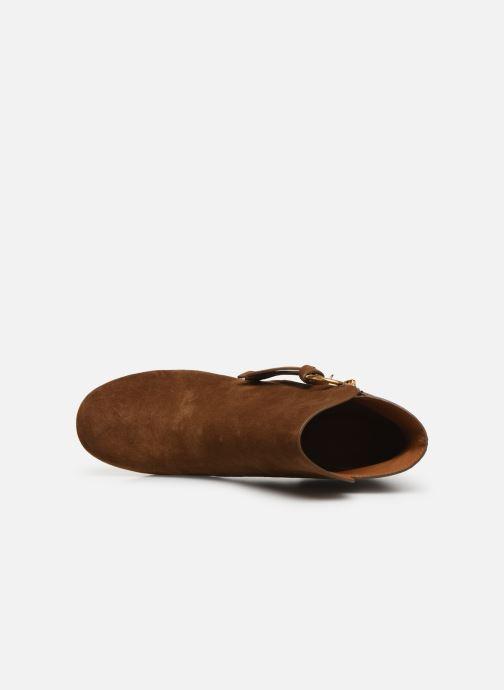 Bottines et boots See by Chloé Louise Marron vue gauche