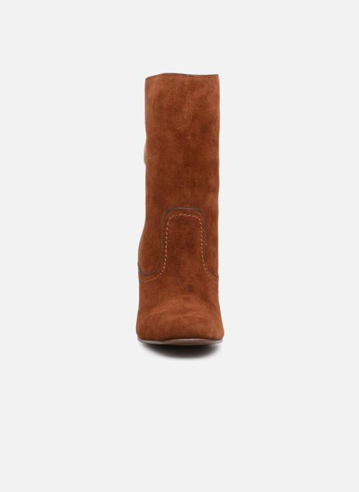 Stiefel See by Chloé Lara braun schuhe getragen
