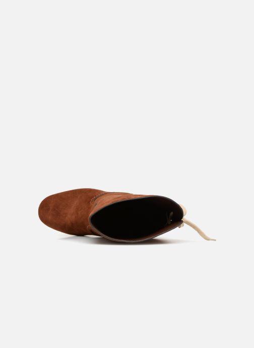 Stiefel See by Chloé Lara braun ansicht von links