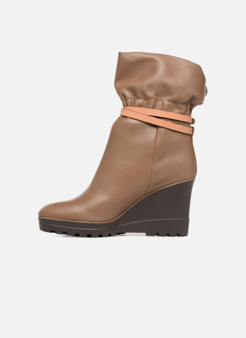 Bottines et boots See by Chloé Robin Boot Marron vue face