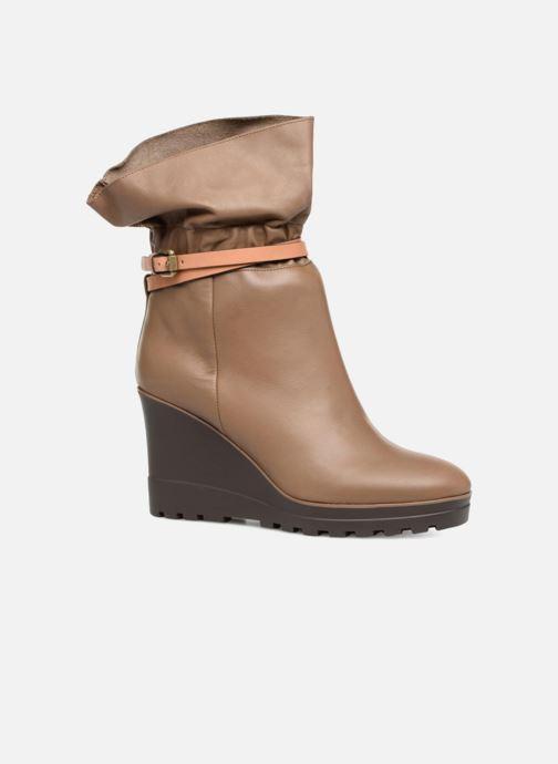 Bottines et boots See by Chloé Robin Boot Marron vue détail/paire