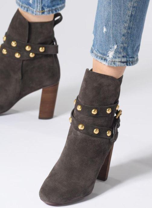 Bottines et boots See by Chloé Janis Marron vue bas / vue portée sac