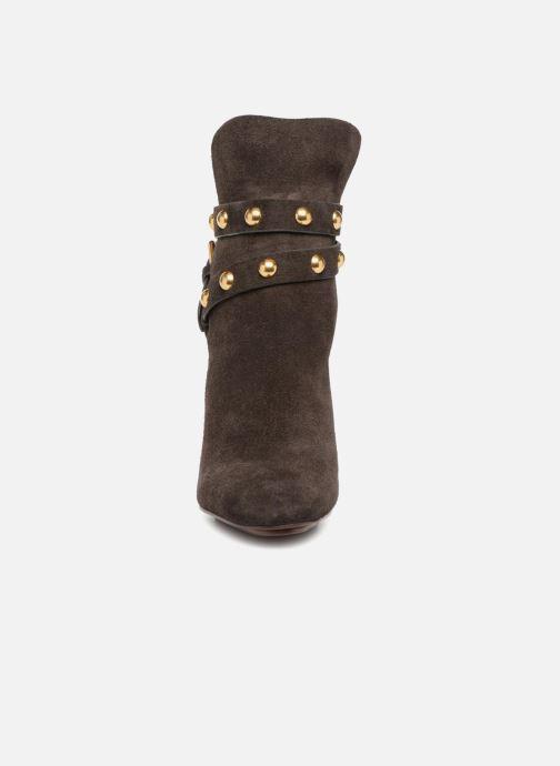 Bottines et boots See by Chloé Janis Marron vue portées chaussures