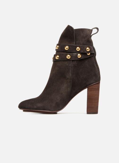 Bottines et boots See by Chloé Janis Marron vue face