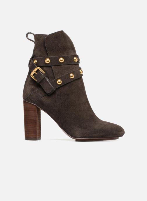 Bottines et boots See by Chloé Janis Marron vue derrière