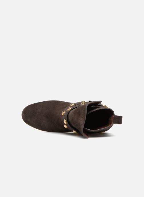 Bottines et boots See by Chloé Janis Marron vue gauche