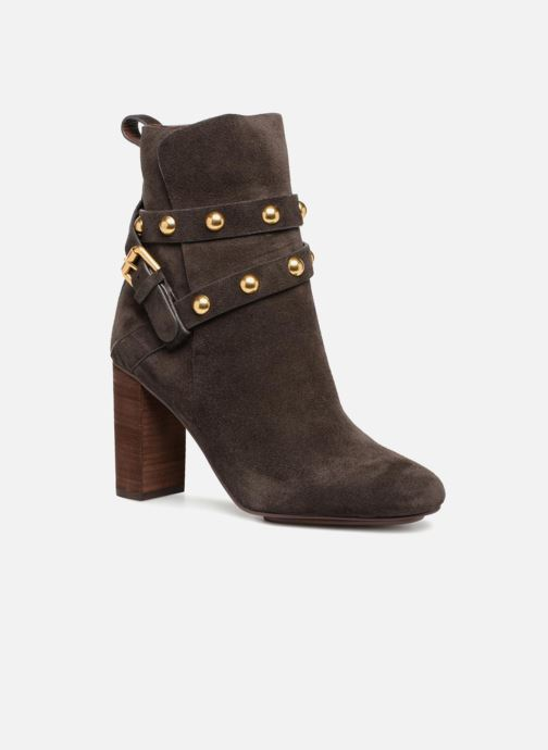 Bottines et boots See by Chloé Janis Marron vue détail/paire