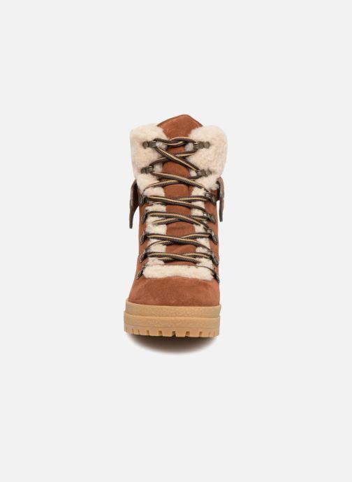 Bottines et boots See by Chloé Eileen Heel Marron vue portées chaussures
