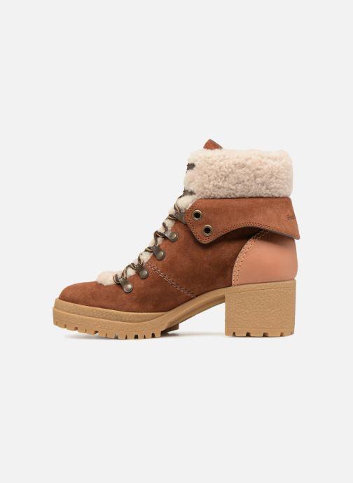Bottines et boots See by Chloé Eileen Heel Marron vue face