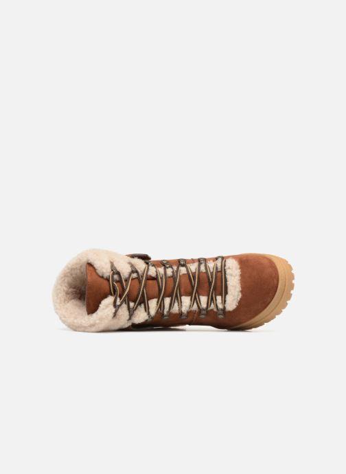 Bottines et boots See by Chloé Eileen Heel Marron vue gauche